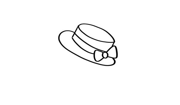 可爱的仓鼠简笔画