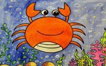 海底世界简笔画大全