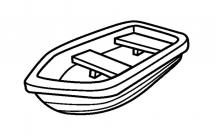 2张小木舟的简笔画