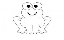 大眼睛青蛙简单画法