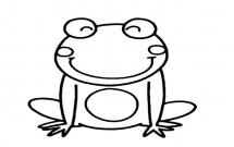 简单的青蛙怎么画