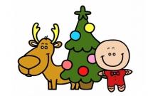 圣诞节主题简笔画