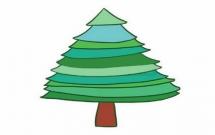 松树怎么画简单又好看