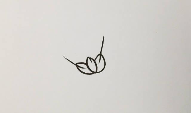 儿童学画麦穗简笔画的画法