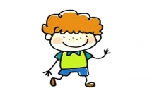 3款卡通小男孩简笔画彩色