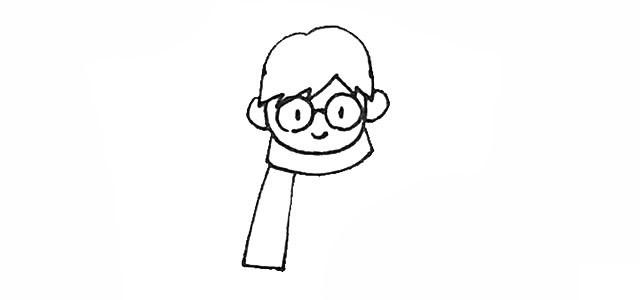 哈利波特的画法步骤