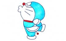 一步步教你画可爱的哆啦A梦
